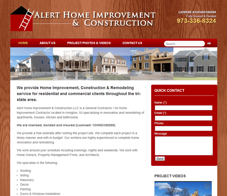 Alert Home Improvement & Construction