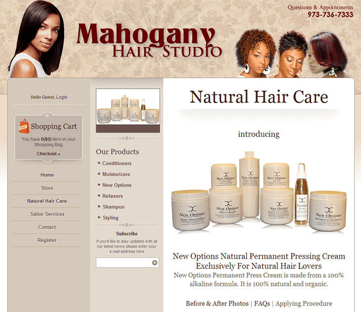 Mahogany Hair Studio