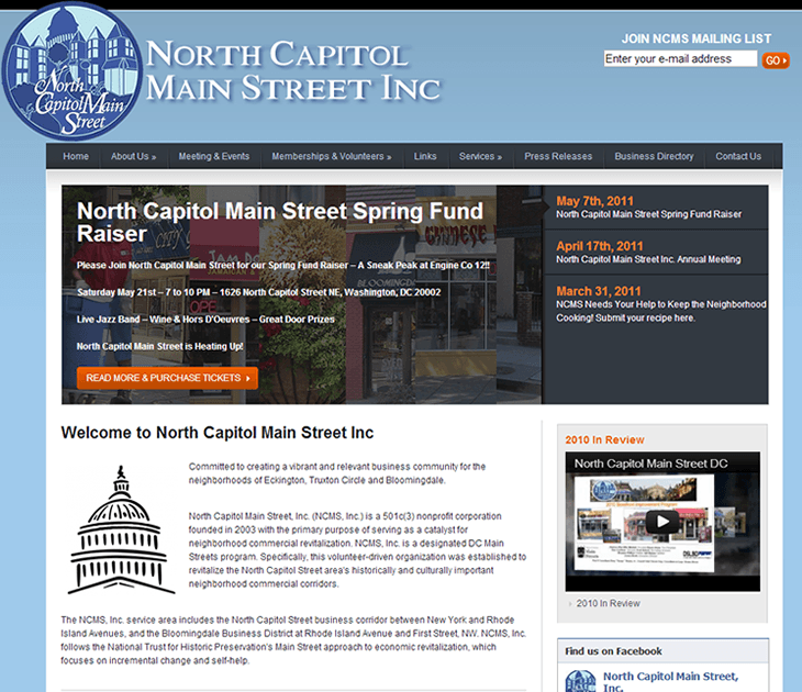 North Capitol Main Street Inc