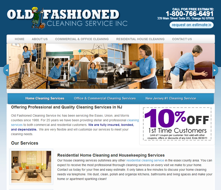 Old Fashioned Cleaning Service Inc