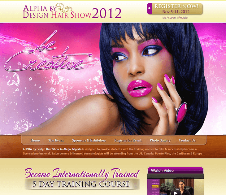 Alpha By Design Hair Show