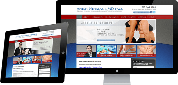 Featured Website Design - Nihalani MD