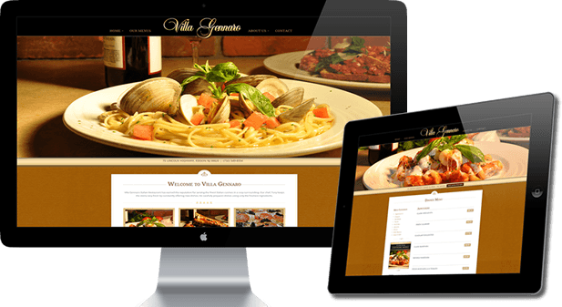 Featured Website Design - Villa Gennaro