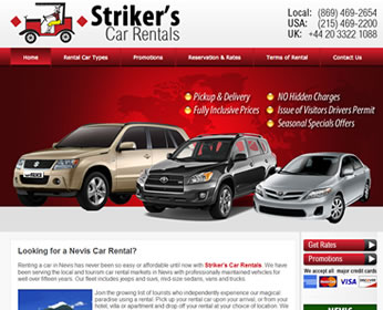Striker's Car Rental